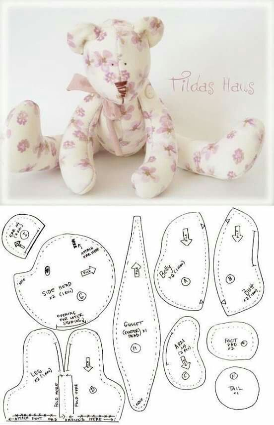 10+ Incredible Home Sewing Crafts Ideas #stuffedanimals