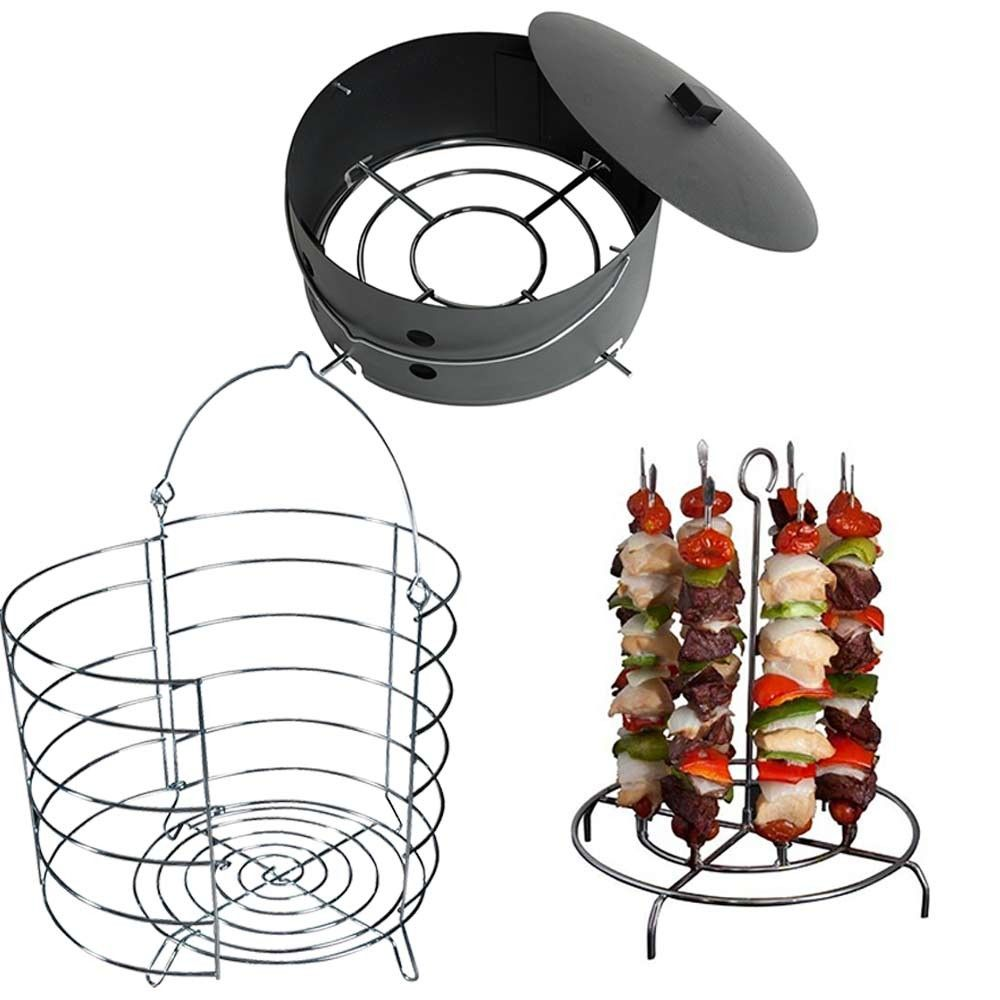 3 Piece Premium Accessory Kit For The Easy Oil Less Turkey Fryer