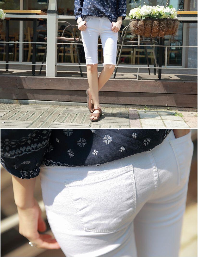 5163a066847 슈가펀]젠틀컬러5부스키니 gentle color 5 length skinny jean / 5부 ...