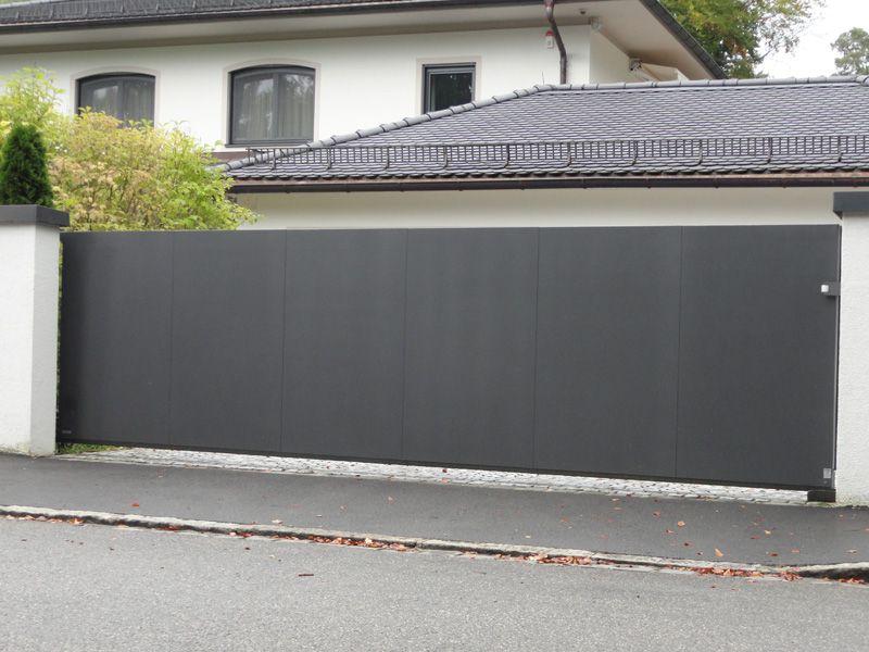 hof schiebetor freitragend 800 600 tore pinterest. Black Bedroom Furniture Sets. Home Design Ideas