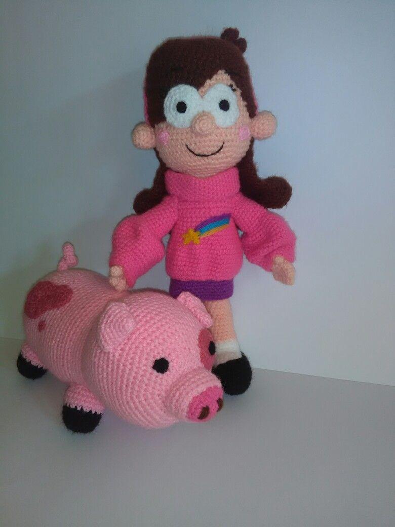 Mabel y pato | Patrones Amigurumi | Pinterest | Patrones amigurumi ...