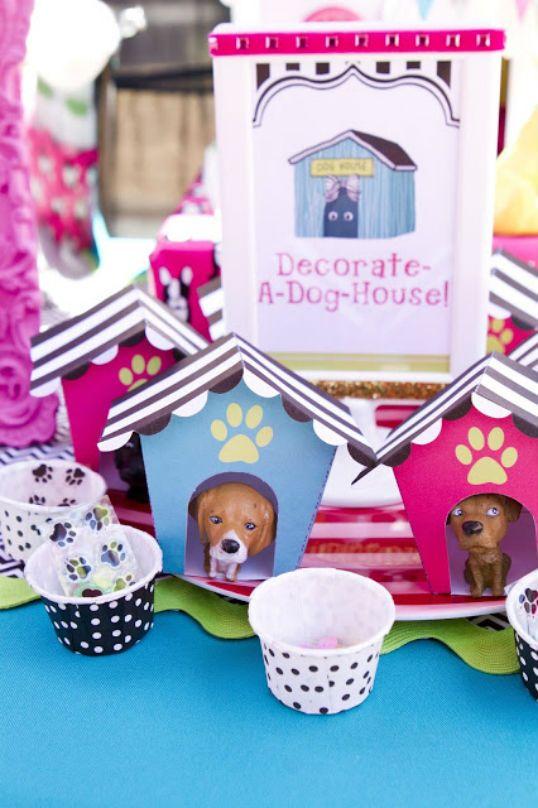 Birthday Party Ideas Blog Puppy Party Birthday Party Ideas Puppy Party Decorations Pet Adoption Birthday Party Puppy Birthday Parties