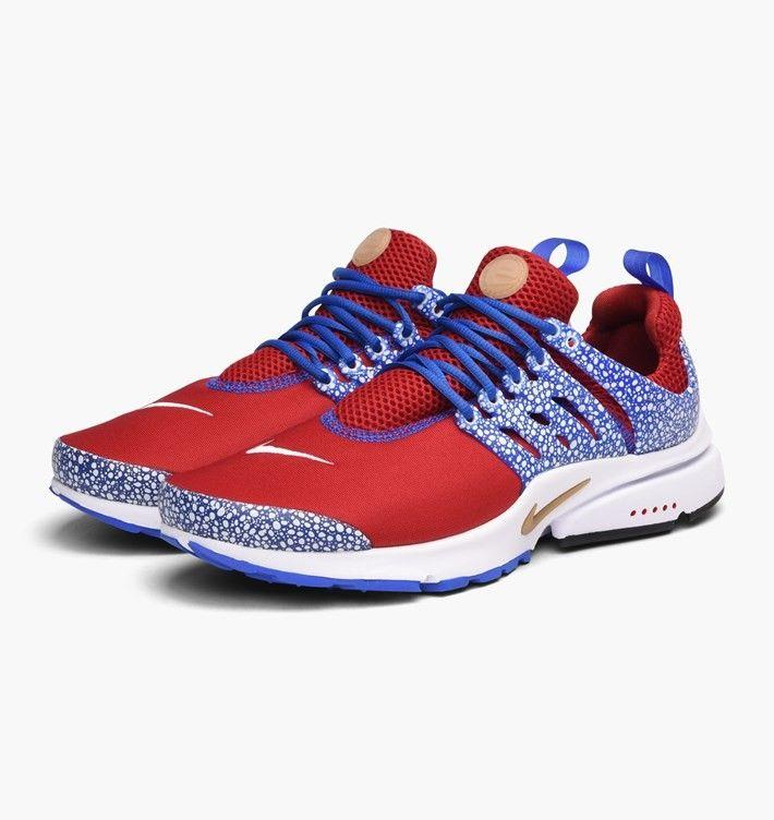 uk availability f57ea 57ddb Nike Air Presto Qs Gym Red Racer Blue Sale
