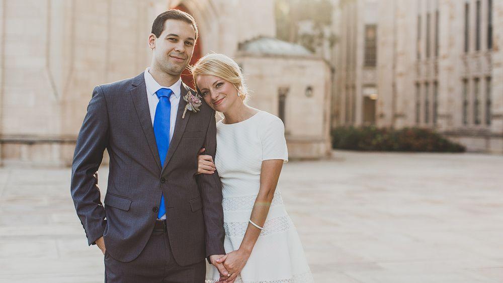 Courthouse wedding samantha jordan pittsburgh