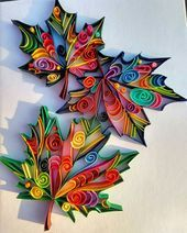 Wir präsentieren Papierquillingarbeiten die ursprünglich von Debbie Hen entworfen wurden  Wir präsentieren Papierquillingarbeiten die ursprünglich von...