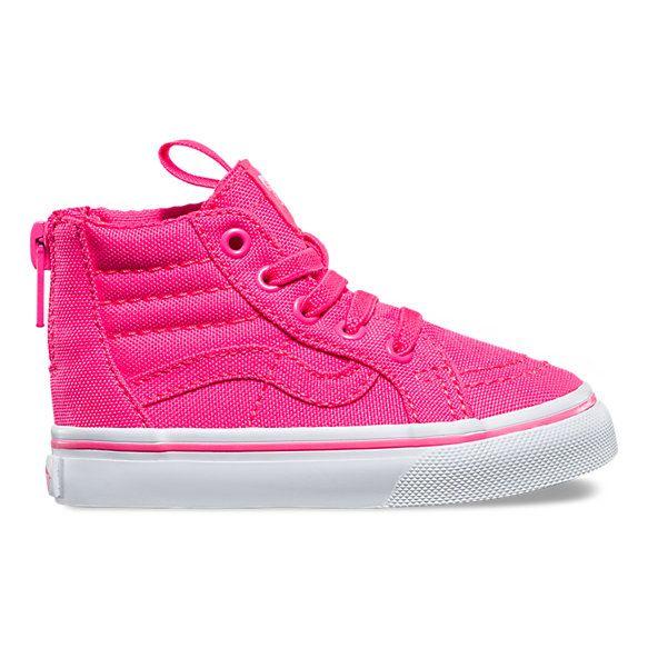 vans sk8 hi pink toddler