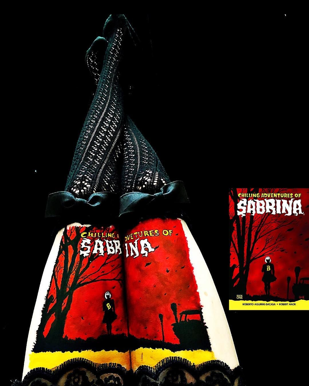 Chilling Adventures Of Sabrina Body Art Book Art Art Body Painting