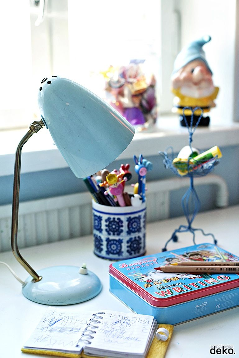 love this vintage lamp