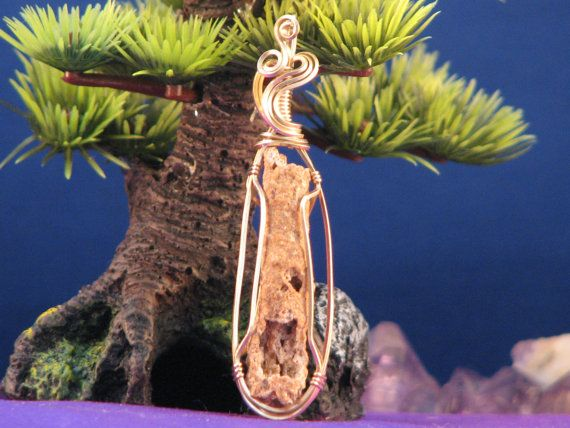 Fulgurite Pendant by Verdasmuse on Etsy, $24.00
