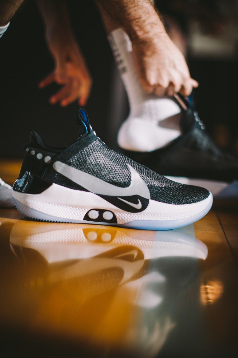 Nike s New Self-Lacing Sneaker Is Back from the Future—and Now for Everyone e0027f8c3