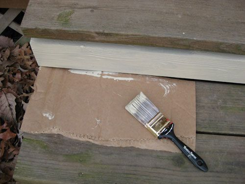 How To Paint A Wood Deck Or Front Porch (We Did Subtle Stripes