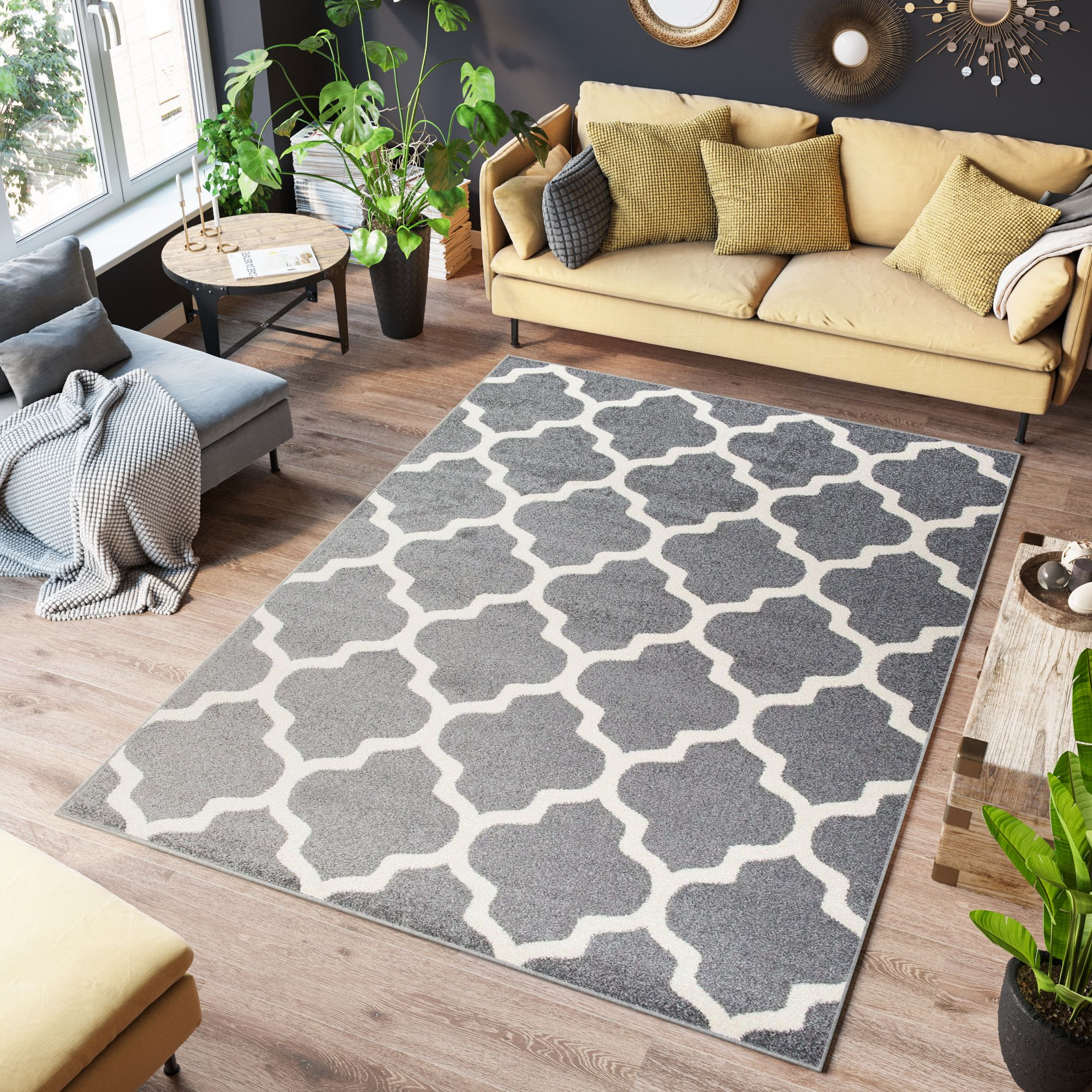 Achieve individual interior ambience by combining