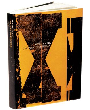 Book cover design by Jenny Grigg Peter Carey Series 2001 Series of eight gatefold covers University of Queensland Press