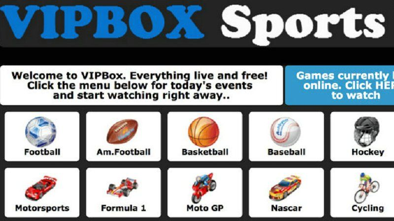 VipBox Alternatives 10+ Sites for Watching Free Sports