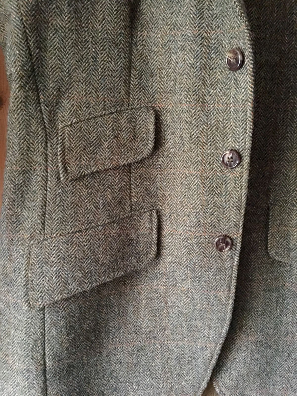 Vintage Orvis Tweed Jacket Hacking Hunting Country Riding