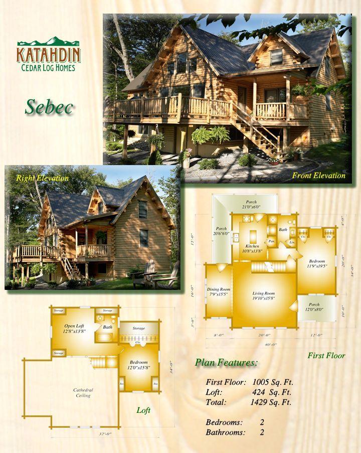 Cedar Log Homes EcoFriendly Green Building – Cedar Log Home Floor Plans
