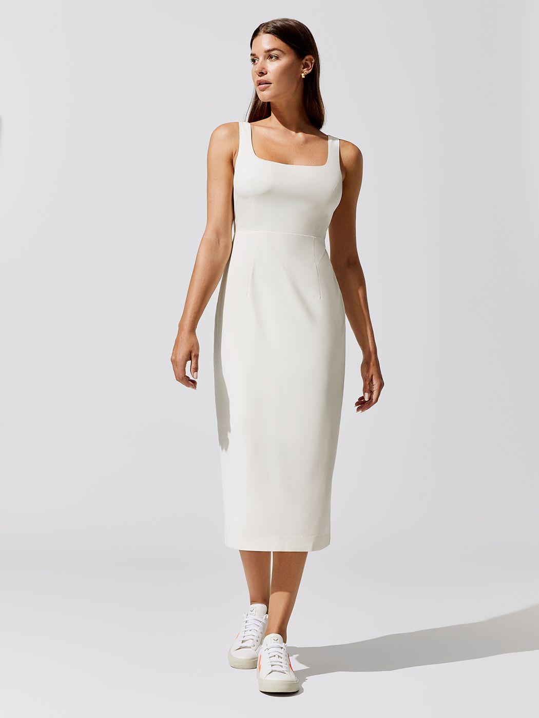 Square Neck Dress Square Neck Dress Dresses Midi Dress [ 1400 x 1050 Pixel ]