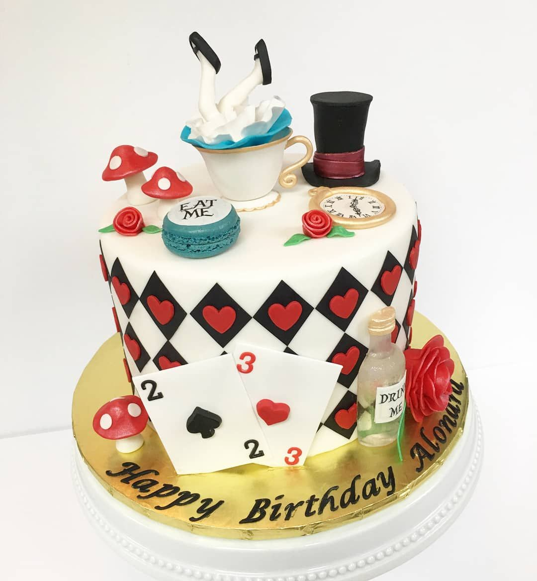 [I Ate] Alice In Wonderland Birthday Cake