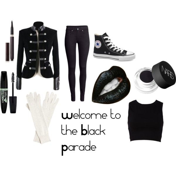 """""""Welcome to the Black Parade"""" by captainamerica77 on Polyvore"""