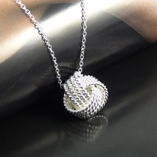Women Wedding 925 Small Ball Silver Fashion pendant necklace 2016 top – Gifts Leads