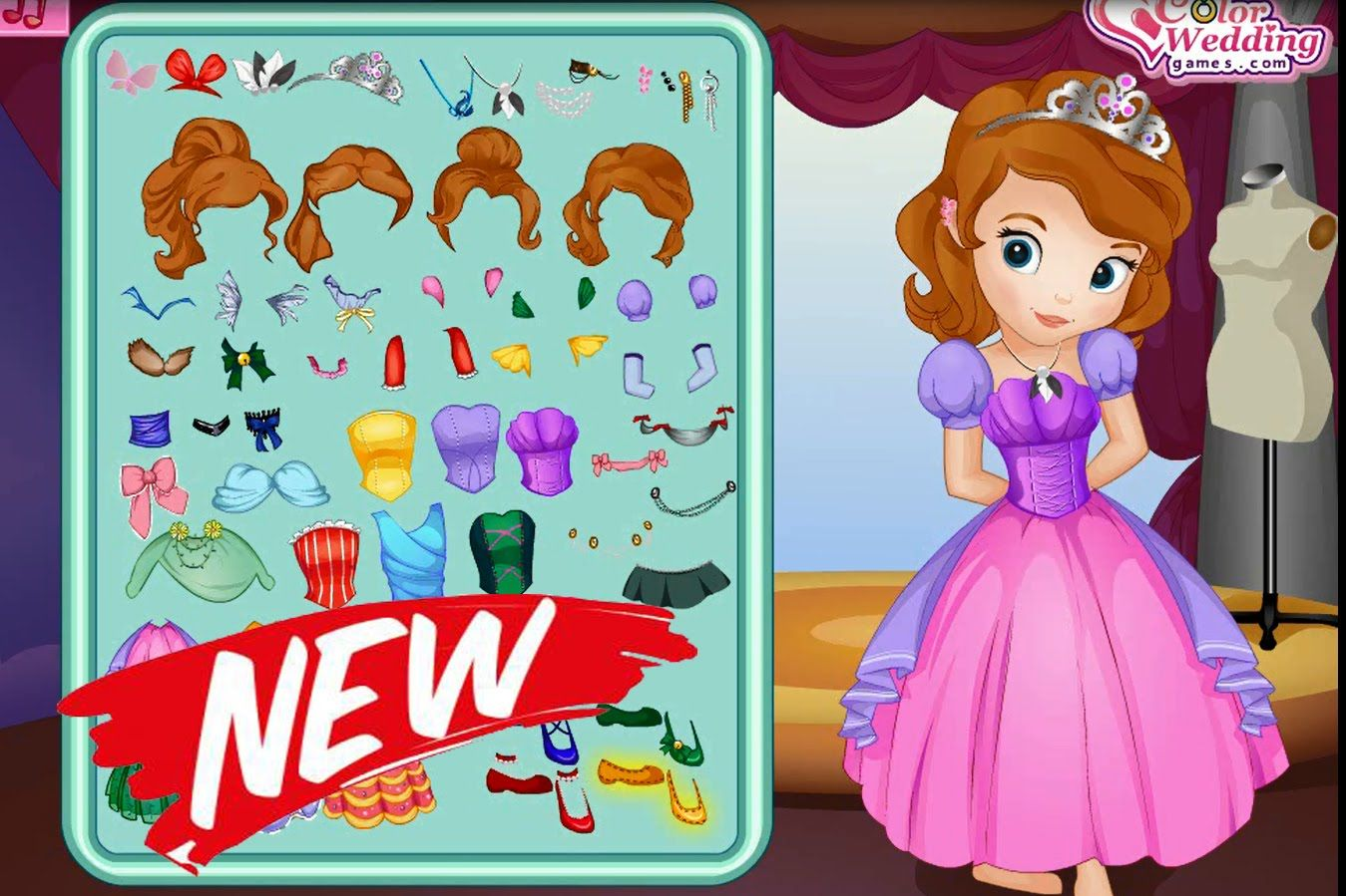 Uncategorized Princess Games For Kids princess sofia birthday dress play the girl game online kidsgames4u kidsgames
