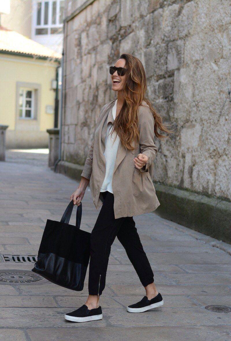 <b>Chicas, ¿quién dijo que no se puede ser stylish y estar cómoda a la vez?</b>