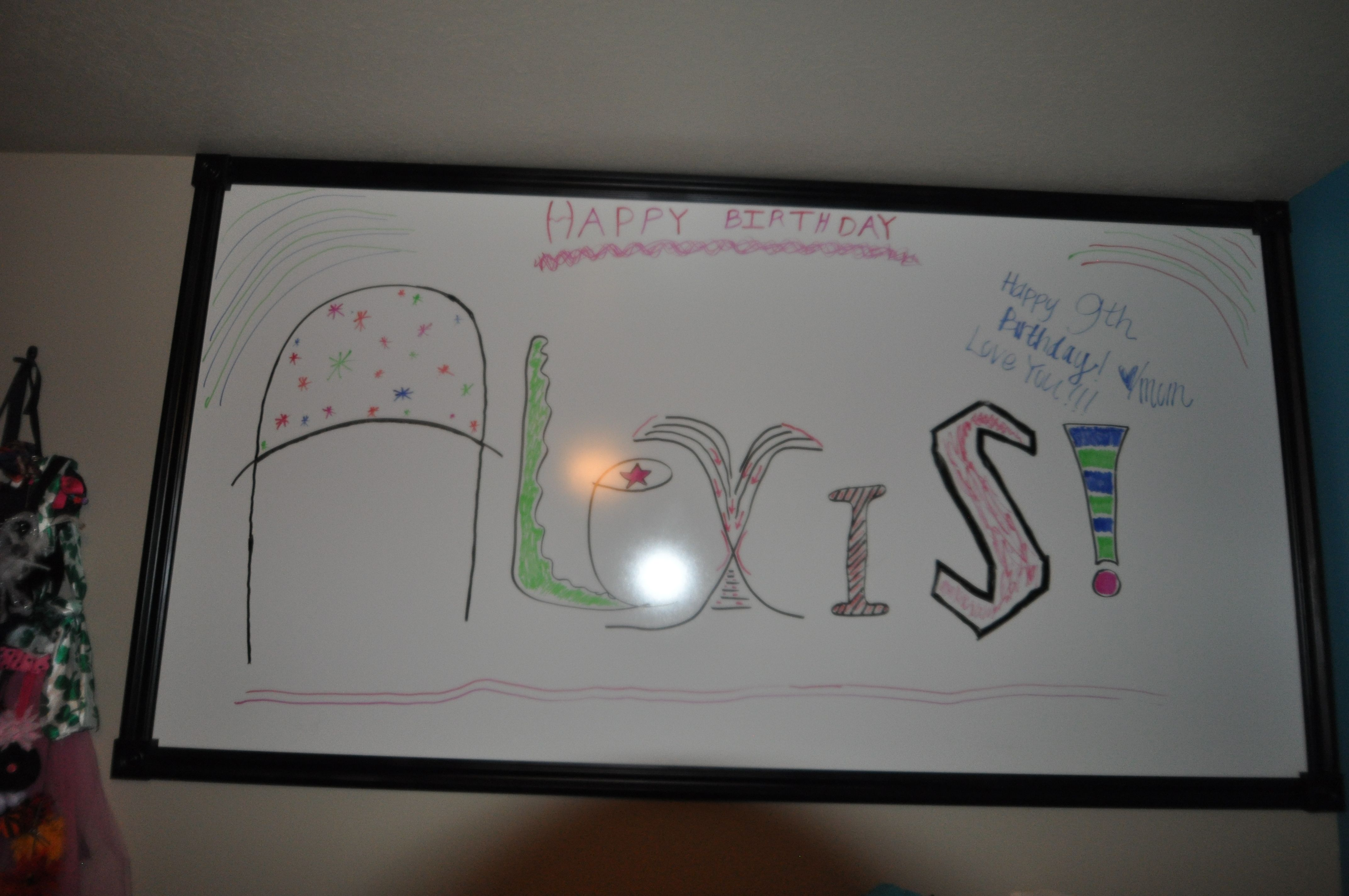How To Make A Giant White Board For We Bought Large Peice Of