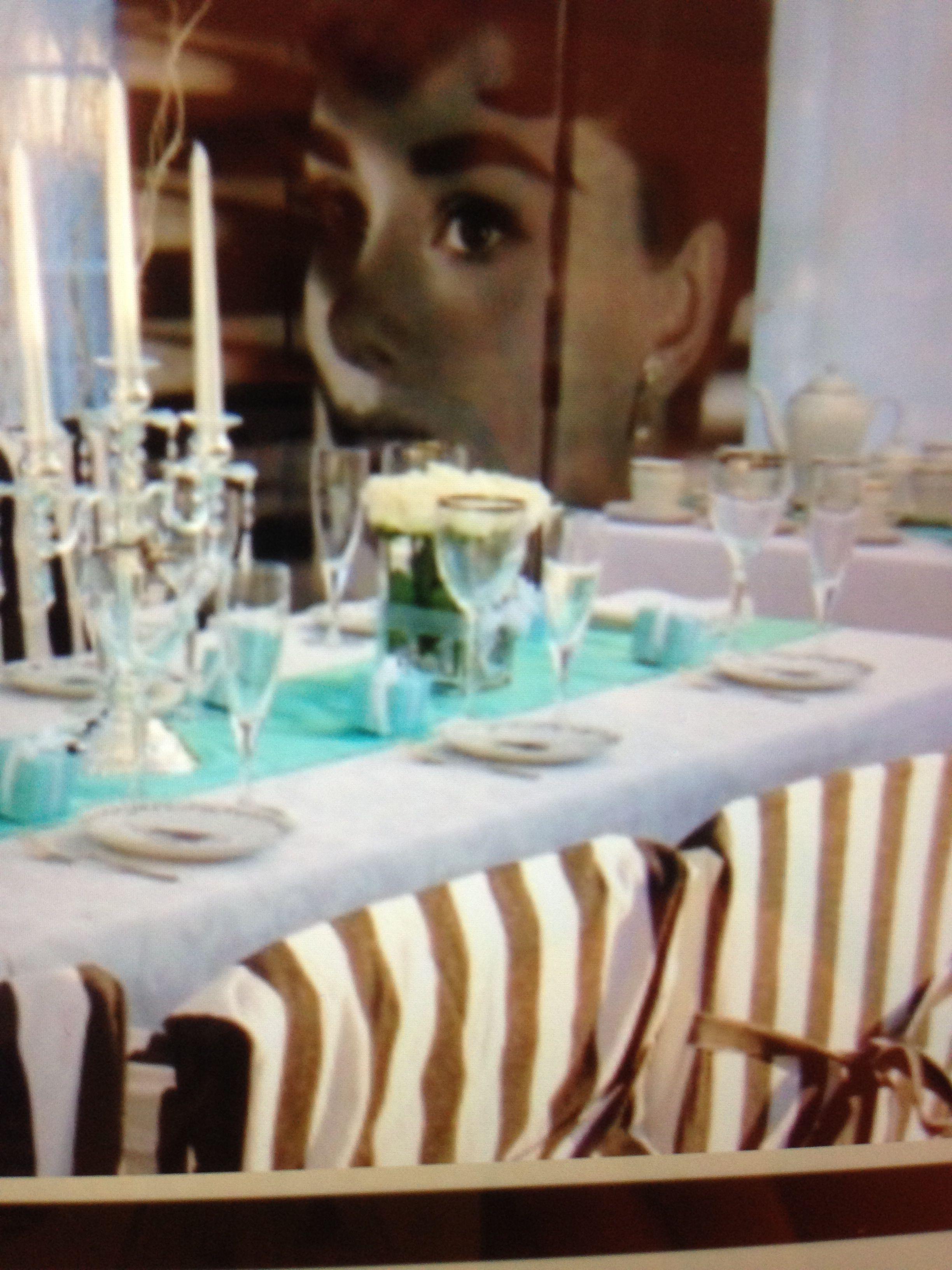 Love creating Breakfast at Tiffany's themed teas!