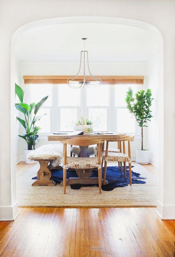 Ideas para decorar un comedor con plantas   Diseños de comedores ...