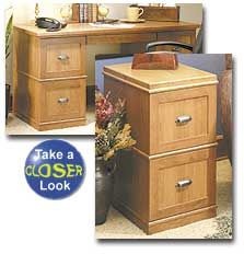 Modular File Cabinets Home Office Desk