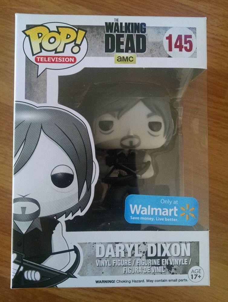 6cbadbc5efc Funko POP! Walking Dead Daryl Dixon Black White Walmart Exclusive