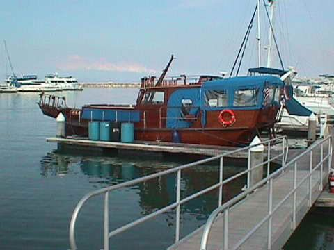 CHINESE JUNK BOATS | 52' solid teak wood boat , steel bulkheads, a real party boat built to ...