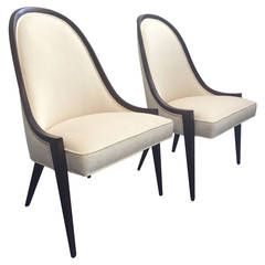 Pair of Harvey Probber Gondola Chairs