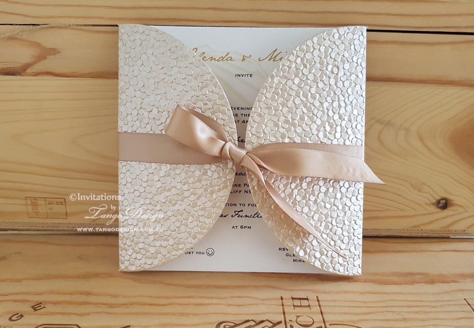 Trendy Wedding Invitation Design Etsy