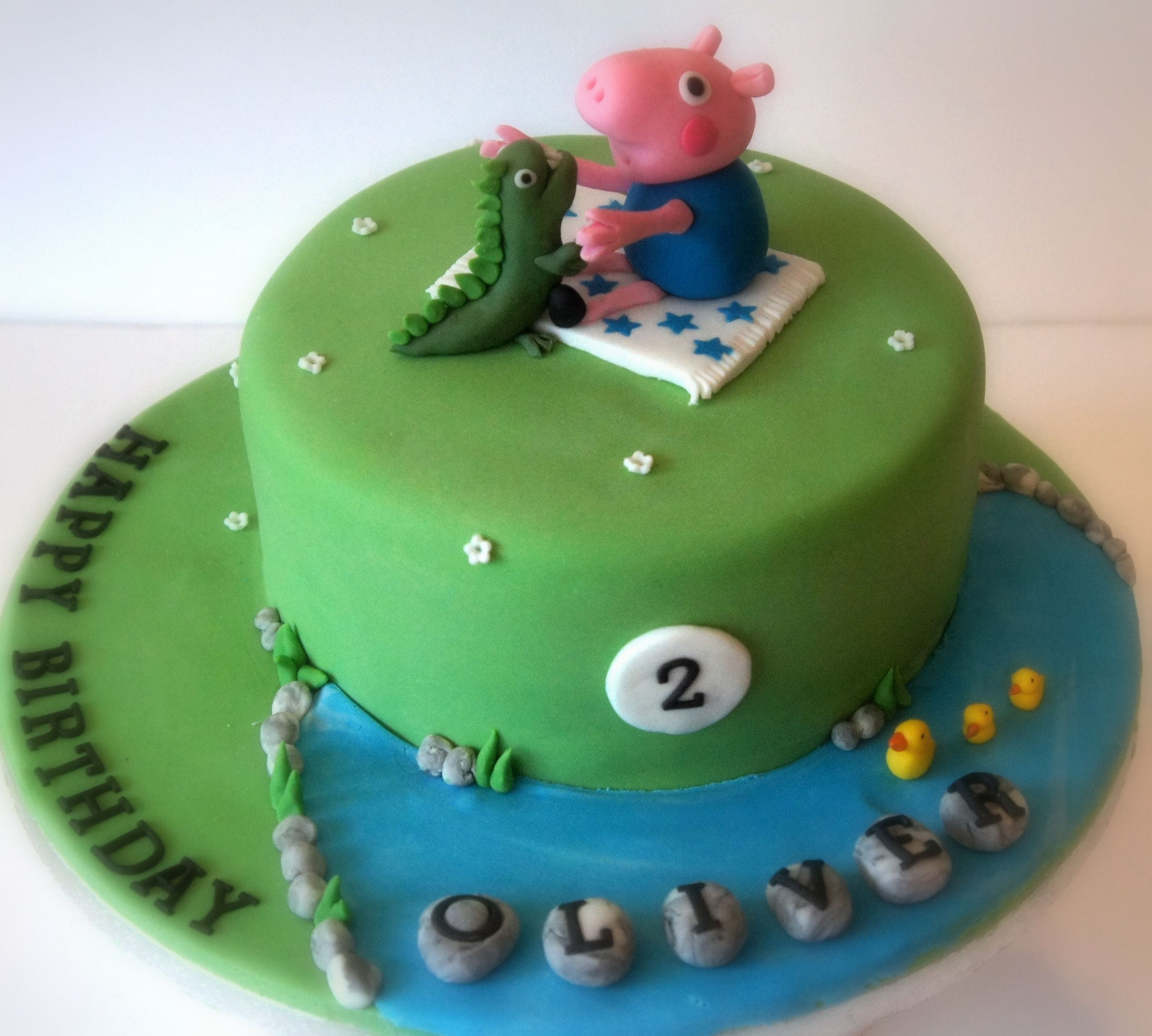 George Pig Cake Www.byjojo.co.uk