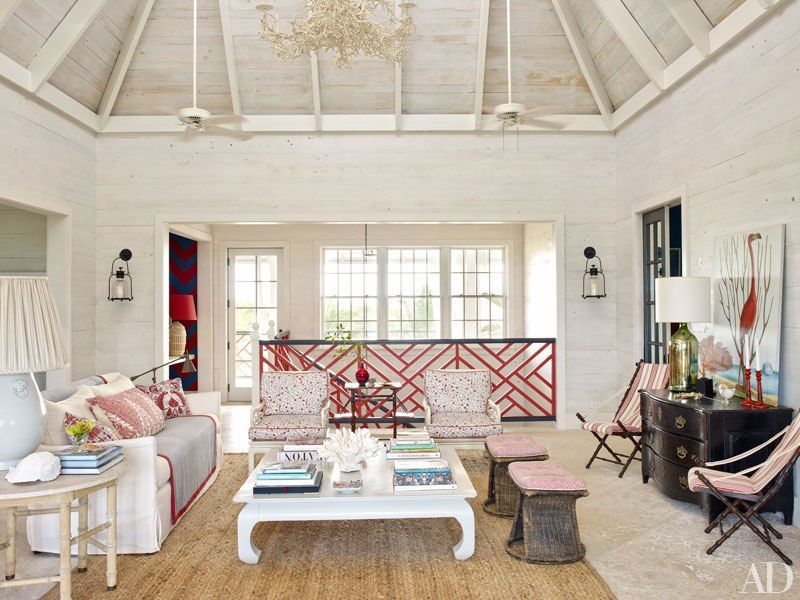 Tour Alessandra Brancas Vacation Home In The Bahamas