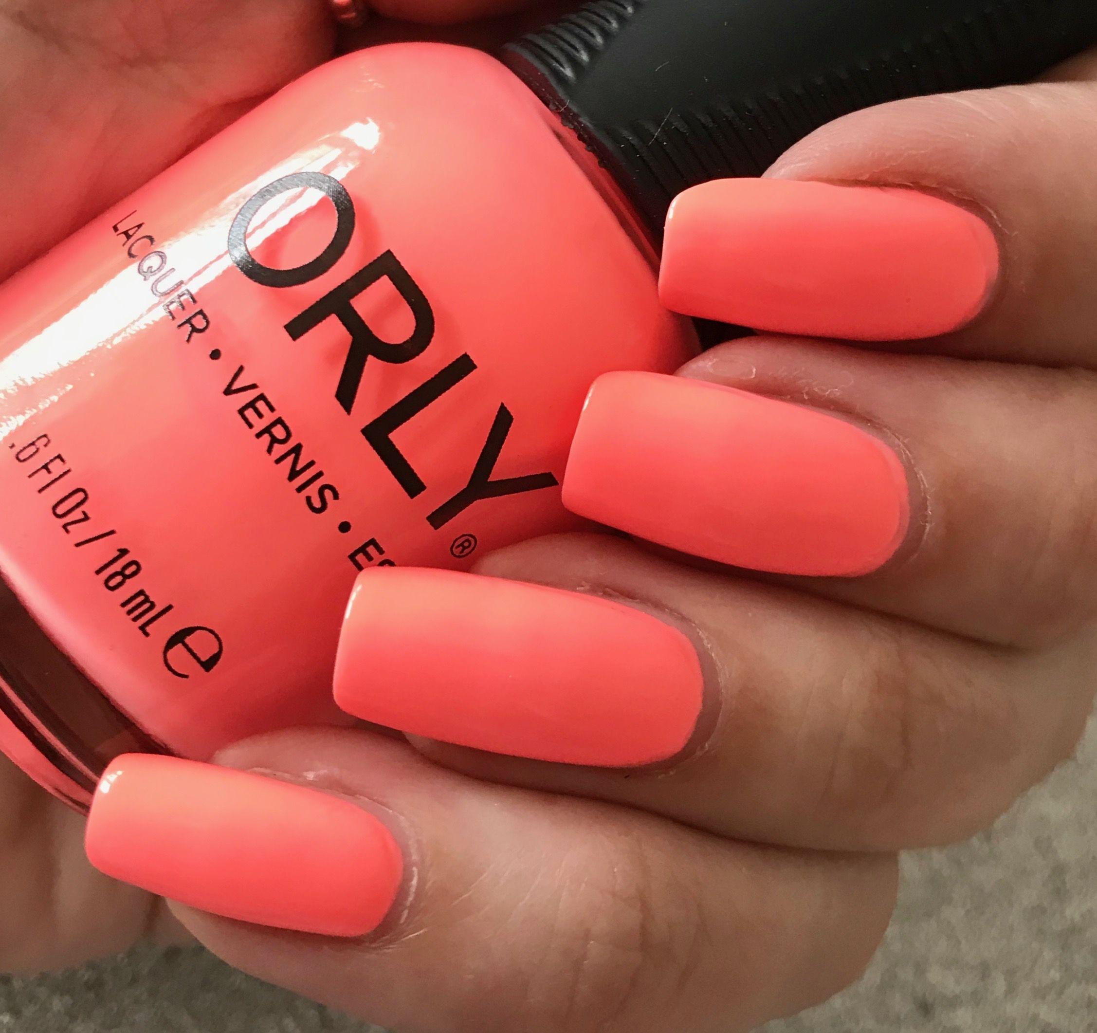 Orly Gel FX - Blazing Sunset   Orly gel fx, Gel polish, Gel