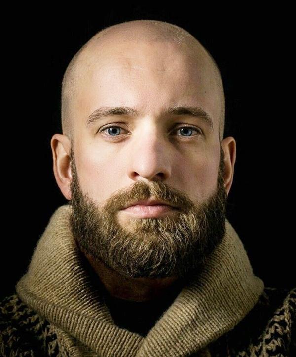 14 Barbas Para Calvos Tipos De Barba Barba Hombre Hombres Calvos Con Barba