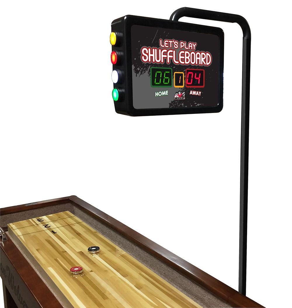 Let's Play Shuffleboard Scoring Unit Shuffleboard, Lets