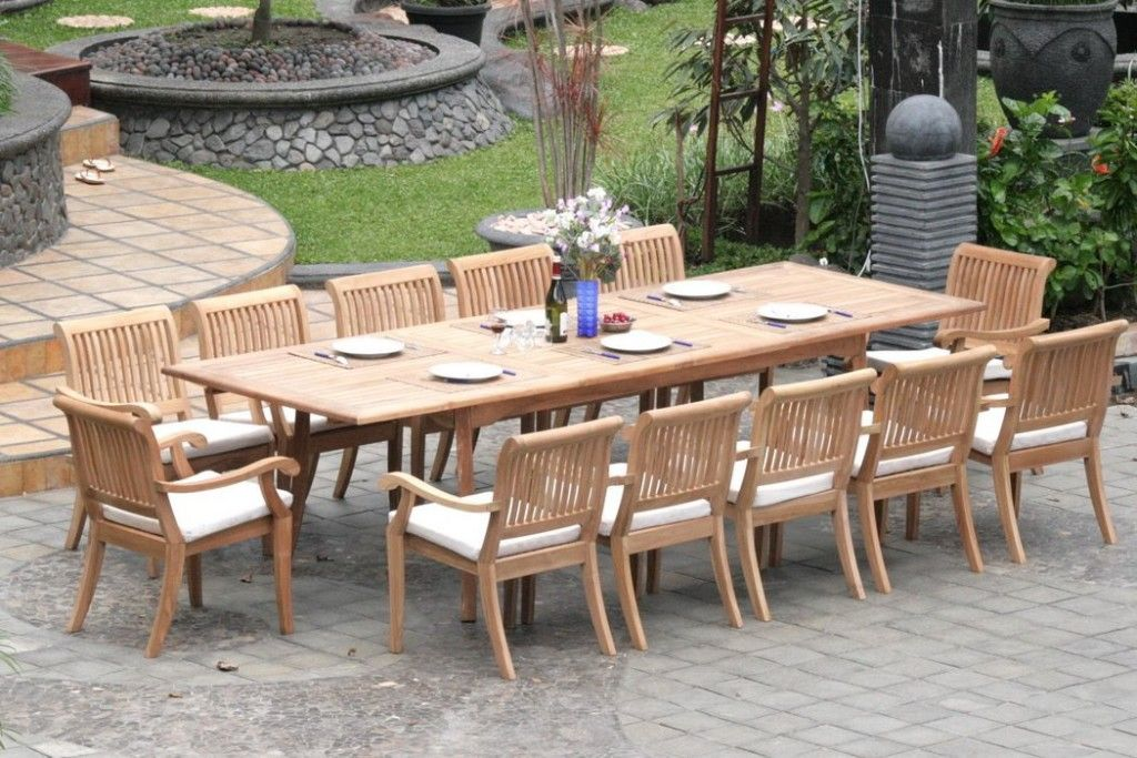 Used Teak Patio Furniture Teak Patio Table Patio Furniture