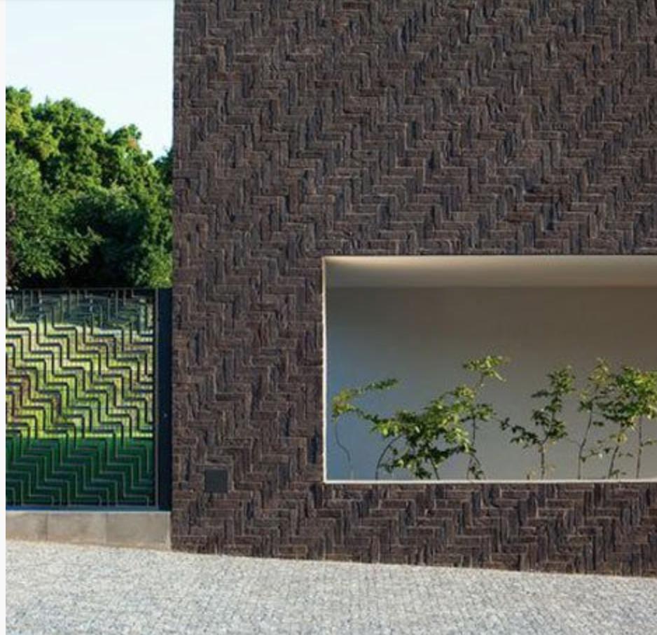Cheap Apartments Outside Bricks: #wall #cladding #herringbone #brick #bond #pattern