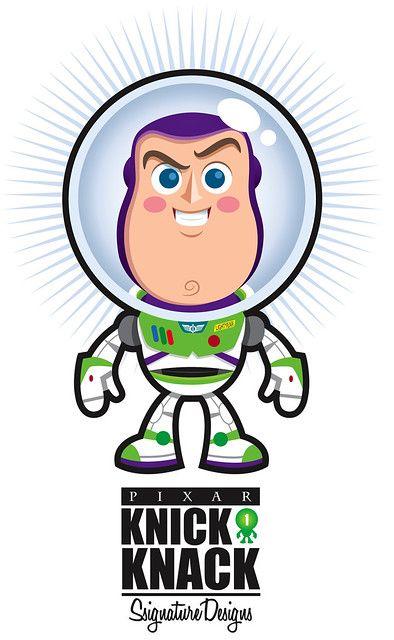 Buzz Lightyear Knick Knack #knickknack