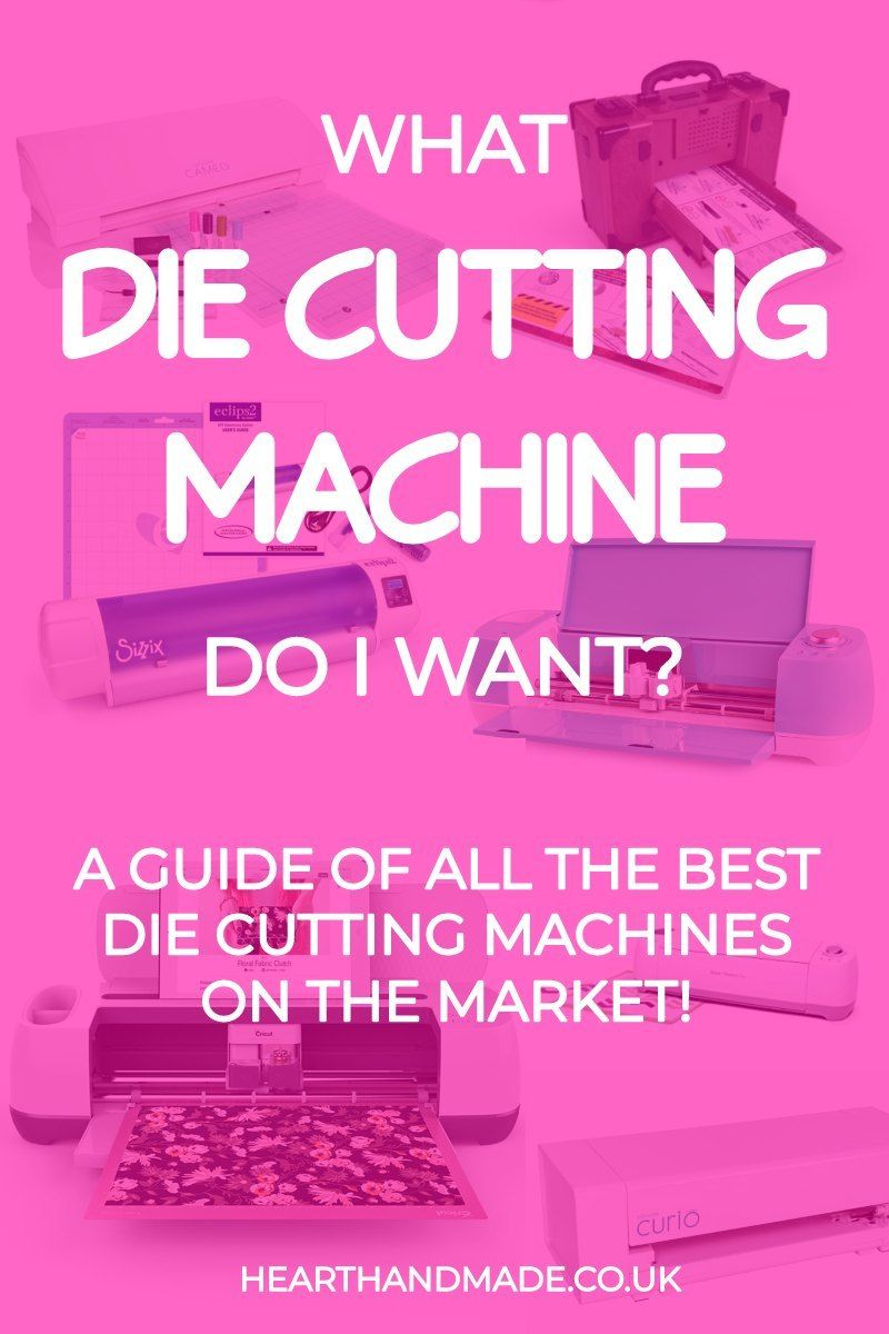The best die cutting machines available right now diy bloggers