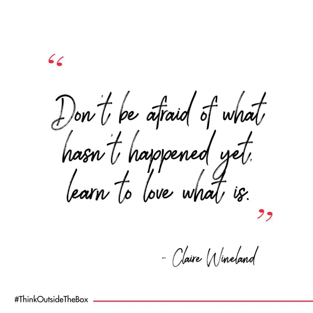 Happy reminder to stay calm & positive from #clairewineland & @claireplacefoudnation Check out the latest article and get inspired follow link in bio. featured on @womenforone  #WednesdayWisdom  #thinkoutsidetheBox #inspiring #quotes #inspiration #motivation #quoteoftheday  #positivevibes #positive #CF #DontPanic