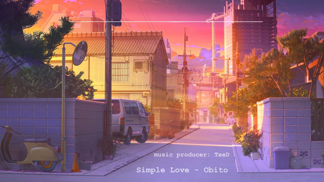 Simple Love Obito Mix By Teed Scenery Background Anime Background Animation Background