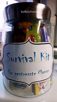 bunt.lecker.kreativ: Geschenk für eine frischgebackene Mama... #wichtelgeschenkideenkollegen