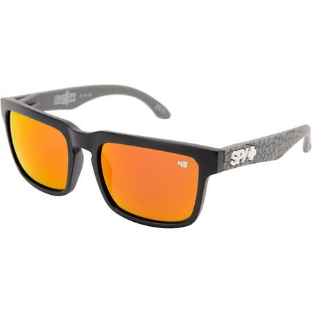1b1e8d101 Spy Helm Ken Block Concrete Grey & Red Spectra Sunglassess | Chill ...