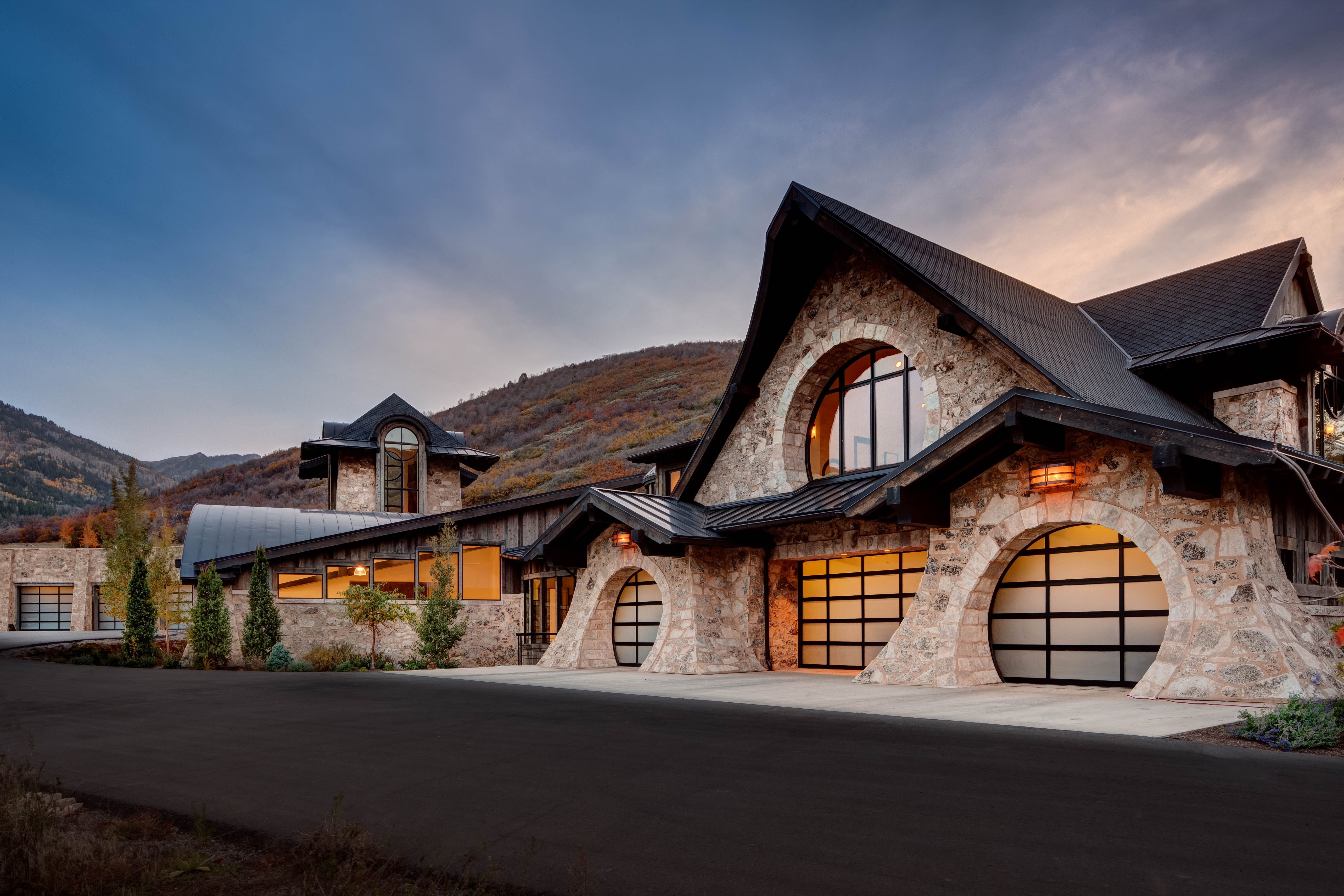 Pin by upwall design architects on examples of our work for Utah home design architects