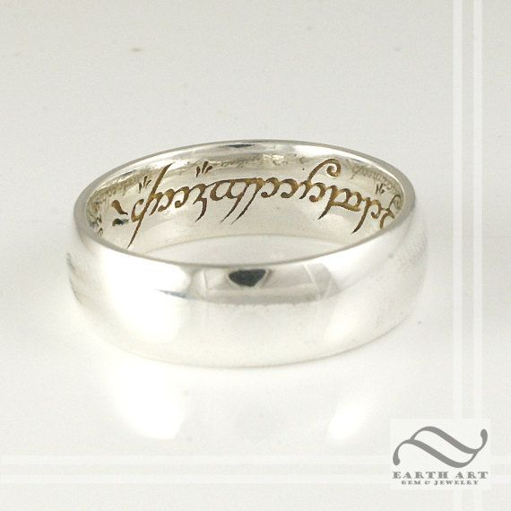 The One Ring  Sterling or gold
