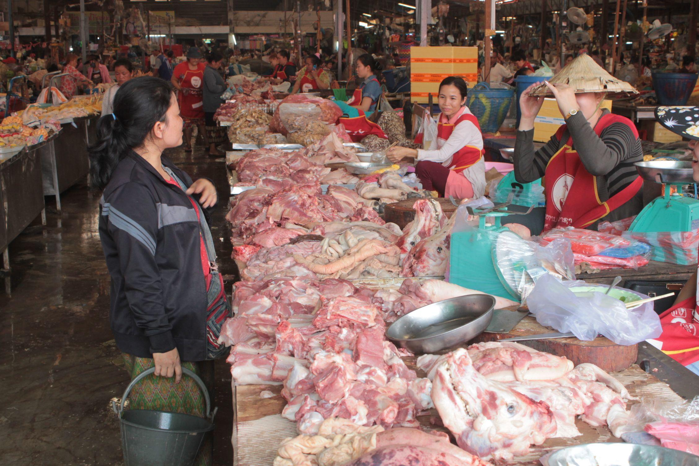Mercado de Pakse, oloriento mmm
